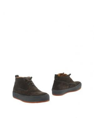 Полусапоги и высокие ботинки BARLEYCORN. Цвет: темно-коричневый