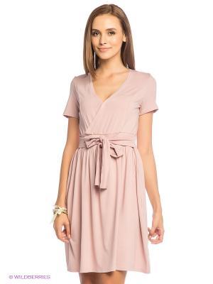 Платье L.A.S. Цвет: розовый