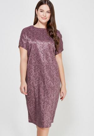 Платье XLady. Цвет: фиолетовый