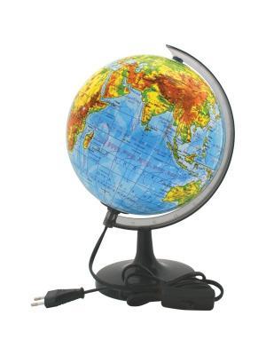 Глобус физический с подсветкой, 20см Rotondo. Цвет: голубой