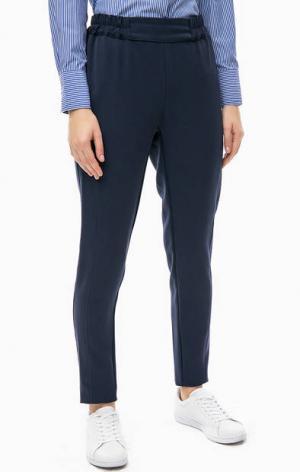Зауженные брюки серого цвета TRUCCO. Цвет: серый
