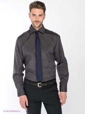 Рубашка Maestro. Цвет: темно-серый