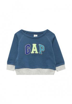 Свитшот Gap. Цвет: синий
