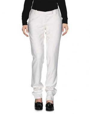 Повседневные брюки LORNA BoSE'. Цвет: белый