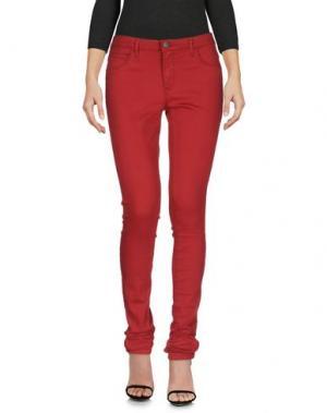 Джинсовые брюки ONLY BLU. Цвет: красный