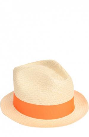 Шляпа пляжная Artesano. Цвет: оранжевый