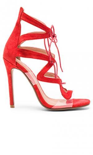 Туфли на каблуке hypnotic JAGGAR. Цвет: красный