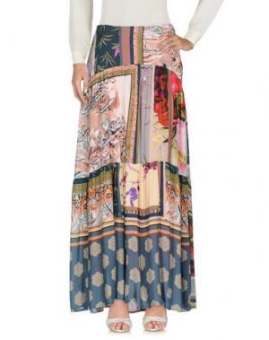 Длинная юбка DV Roma. Цвет: розовый