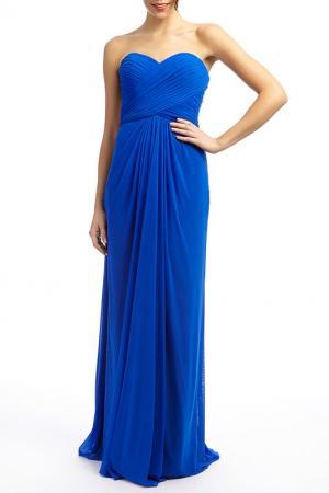 Платье YASMIN. Цвет: синий