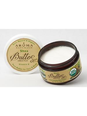 Масло Ши, 95 гр Aroma Naturals. Цвет: белый