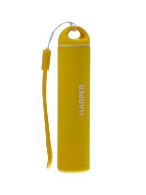 Внешний аккумулятор HARPER PB-2602 Yellow. Цвет: желтый
