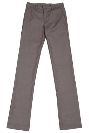 Брюки American Apparel. Цвет: серо-коричневый