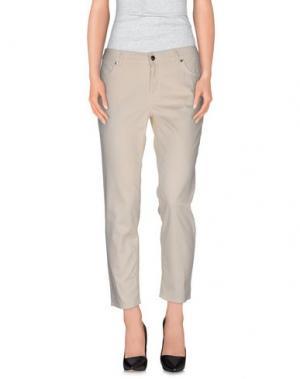 Повседневные брюки GOOD MOOD. Цвет: слоновая кость