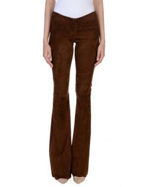 Повседневные брюки SLY010. Цвет: коричневый