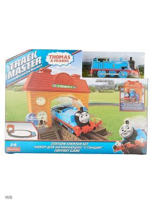 Железная дорога THOMAS & FRIENDS. Цвет: красный, оранжевый