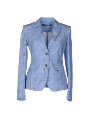 Пиджак NEW YORK INDUSTRIE. Цвет: небесно-голубой