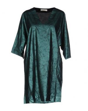 Короткое платье MONICA •LENDINEZ. Цвет: зеленый