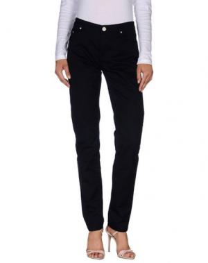 Повседневные брюки WON HUNDRED. Цвет: темно-синий