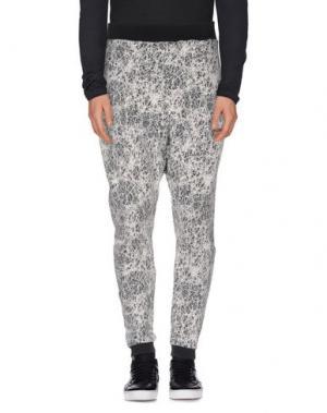 Повседневные брюки NUMERO 00. Цвет: серый