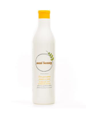Гель для душа Double Pleasure Лимон и липа (500г) Maxi Beauty 4813413000071