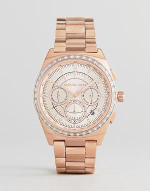 Michael Kors Золотистые часы из нержавеющей стали MK6422. Цвет: золотой