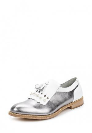 Ботинки Lamania. Цвет: серебряный