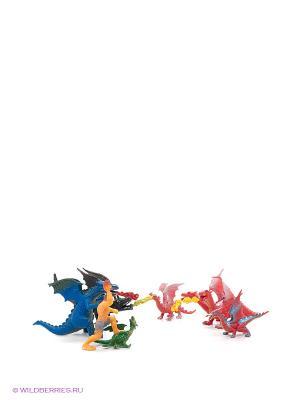 Игровой набор Драконы Happy Kin. Цвет: синий, красный, желтый