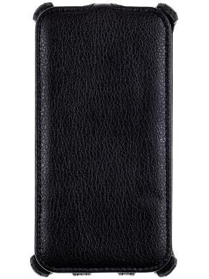 Флип-кейс для crabMicrosoft Lumia 540 Prime. Цвет: черный