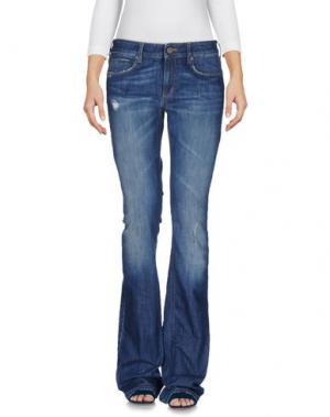 Джинсовые брюки M.GRIFONI DENIM. Цвет: синий