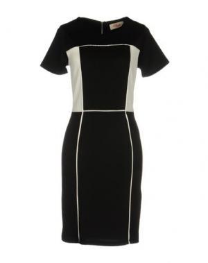 Короткое платье DEBY DEBO. Цвет: черный