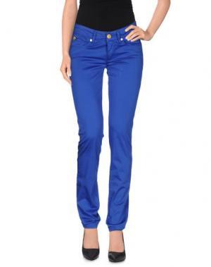 Повседневные брюки TAKE-TWO. Цвет: ярко-синий