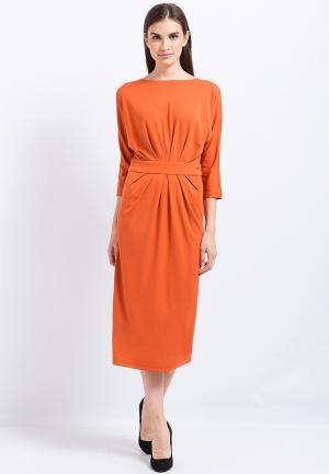 Платье Finn Flare. Цвет: оранжевый