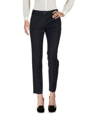 Повседневные брюки GALLERIE DES MEUBLES. Цвет: темно-синий
