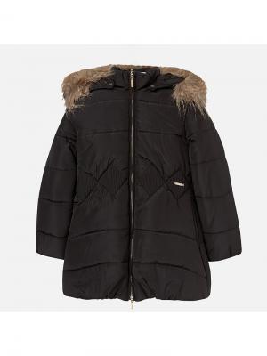Куртка Mayoral. Цвет: черный