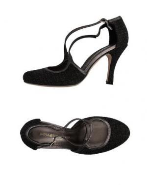 Туфли MINA BUENOS AIRES. Цвет: темно-коричневый