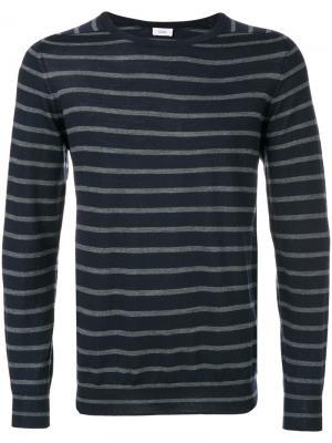 Полосатый трикотажный свитер Closed. Цвет: синий