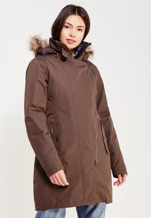 Куртка утепленная Bergans of Norway. Цвет: коричневый