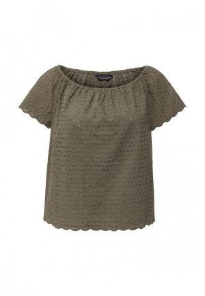 Блуза Dorothy Perkins. Цвет: хаки
