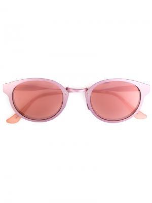 Солнцезащитные очки Panama Synthesis Retrosuperfuture. Цвет: розовый и фиолетовый