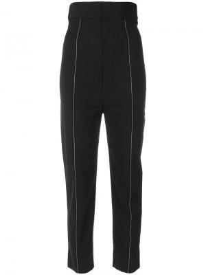 Укороченные брюки Jacquemus. Цвет: серый