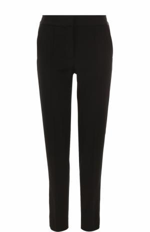 Укороченные брюки прямого кроя DKNY. Цвет: черный