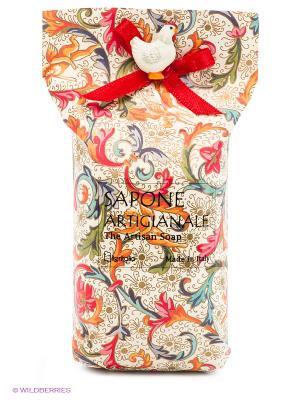 Натуральное косметическое мыло  ароматом миндаля Iteritalia. Цвет: белый