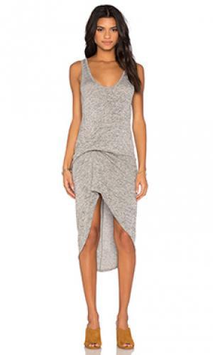 Платье bianca Riller & Fount. Цвет: серый