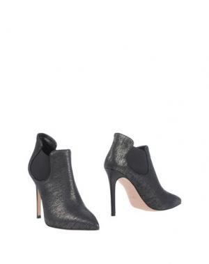 Ботинки ANNA F.. Цвет: стальной серый