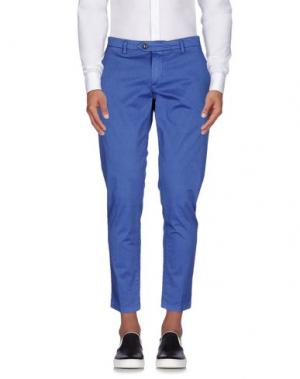 Повседневные брюки TAKESHY KUROSAWA. Цвет: синий