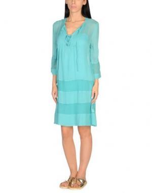 Пляжное платье TWIN-SET Simona Barbieri. Цвет: бирюзовый