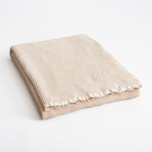 Плед из вафельной ткани Naranjo AM.PM.. Цвет: бледно-розовый