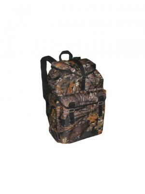 Рюкзак ЛЕШИЙ 40Л., OXFORD 600D, ЦВ. ЛЕС (LESH40A) Campland. Цвет: черный, коричневый, рыжий
