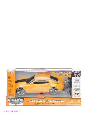 Радуоуправляемая машина 2010 Chevy Camaro SS 124 Jada. Цвет: желтый