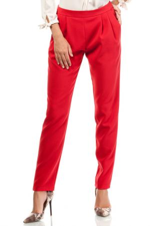 TROUSERS Moe. Цвет: red